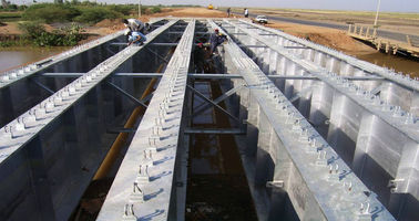 Permanent Deck Steel Grider Bridge for Short and Medium Spans Highway Bridges